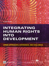 Integrating Human Rights into Development (eBook): Donor Approaches, Experiences, and Challenges